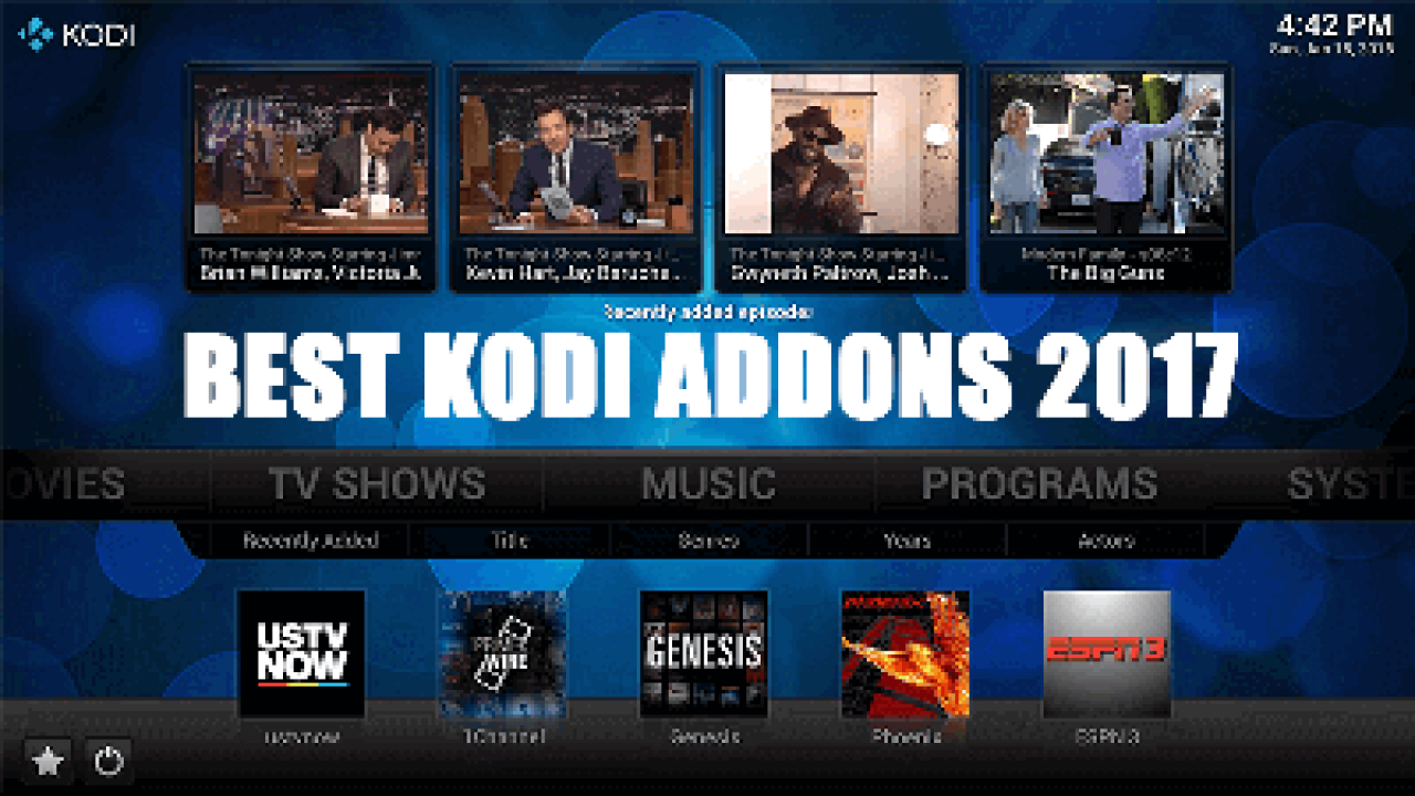 Best Kodi Addons June 2021 Best Working Kodi Live TV Addons for June 2020   TechZimo