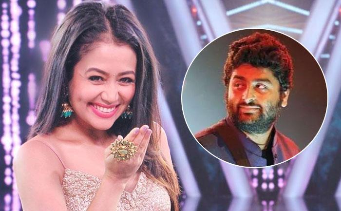 Neha Kakkar Pays Tribute To Her Favorite Singer Arijit Singh Sings Tum Saath Ho Techzimo