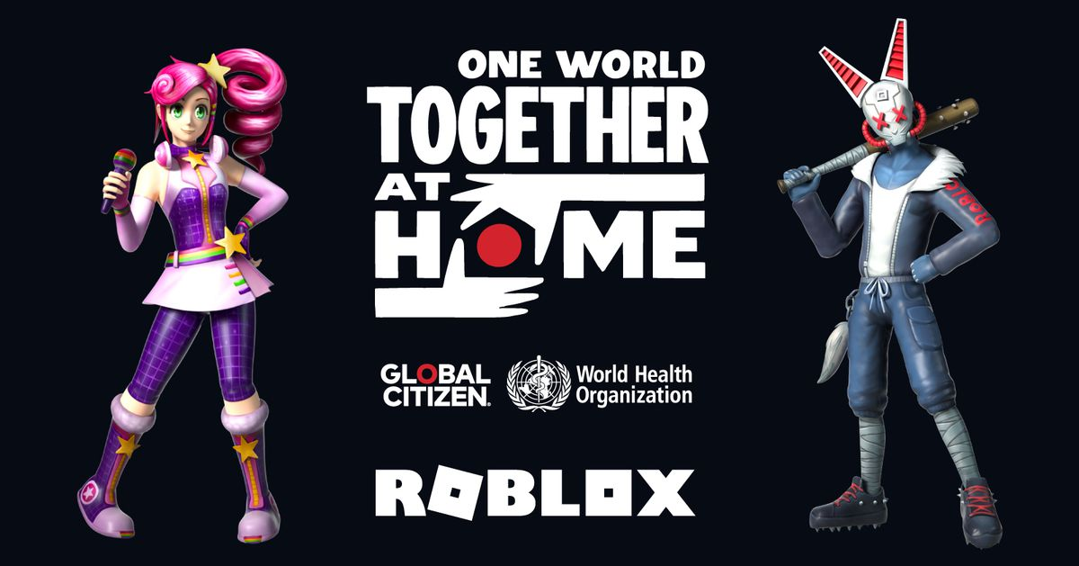 Roblox To Stream The One World Together At Home Benefit Concert