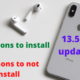 4 reasons not to install ios 13.5.1 update