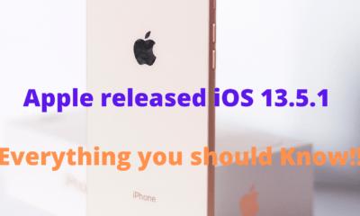 Apple releases iOS 13.5.1
