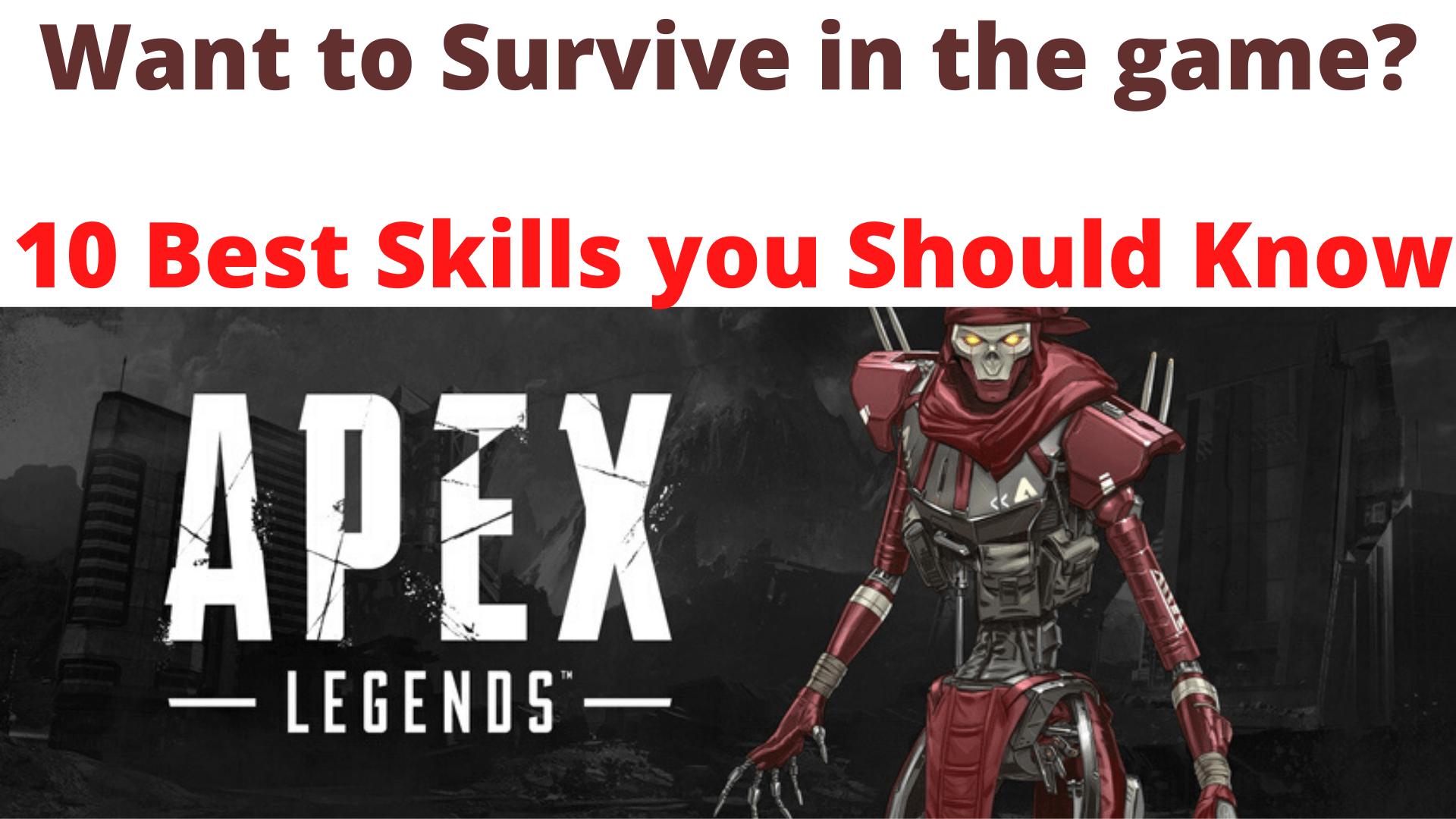 Apex legend Skills