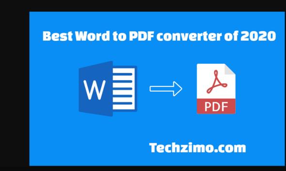 best word to pdf converter