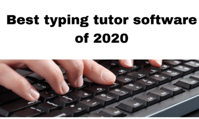 Best typing tutor software of 2020