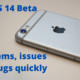 Fix iOS 14 Beta Problems, issues and Bugs quickly