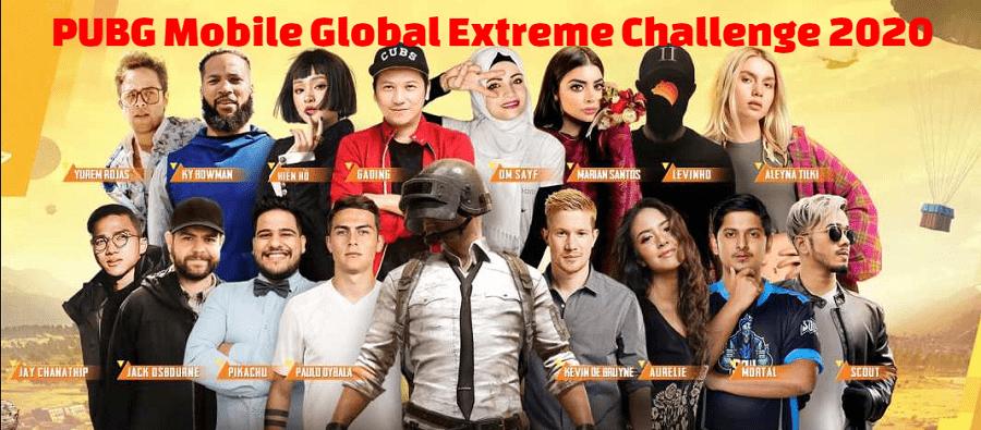 PUBG Mobile Global Extreme Challenge 2020