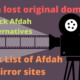 Afdah Mirror sites