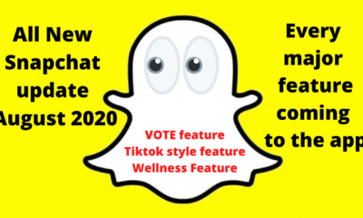 All New Snapchat update August 2020
