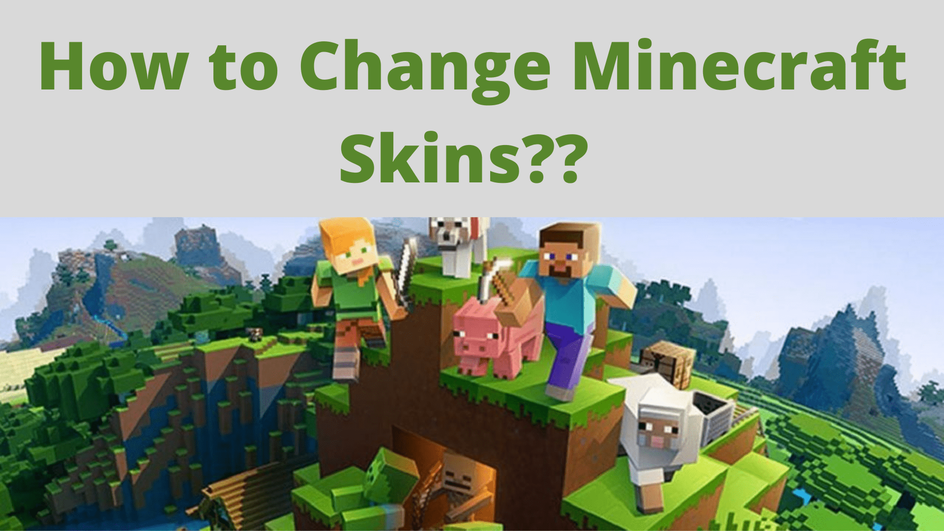 How to Change Minecraft Skins (Best Ways)