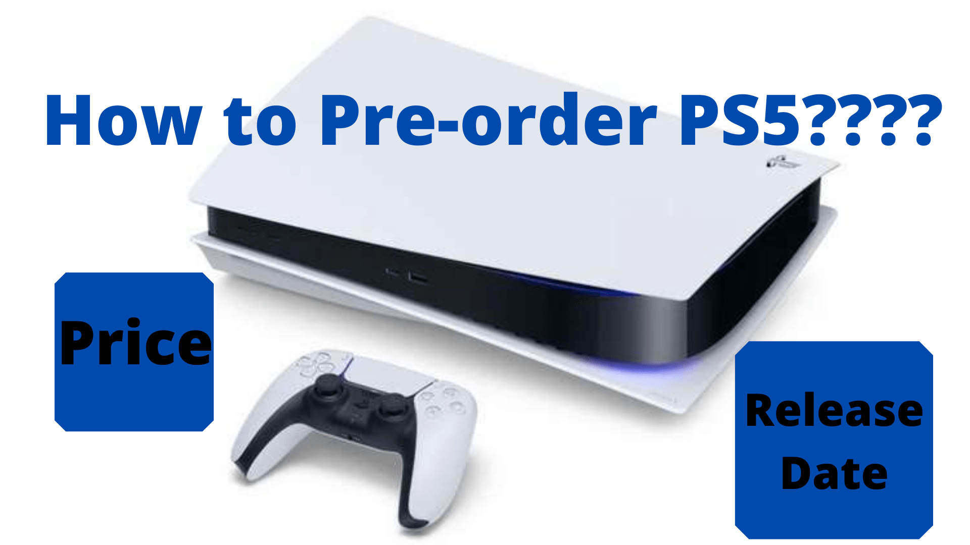 How to Pre-order PS5