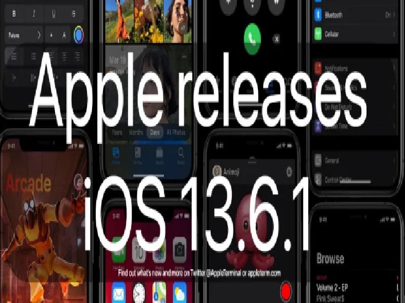 Apple Releases iOS 13.6.1