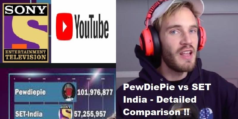 PewDiePie vs Set India