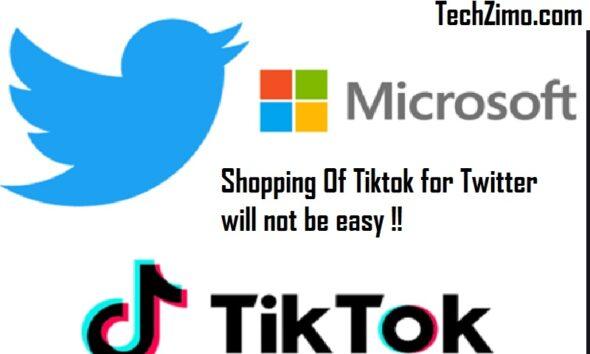 Shopping Of Tiktok for Twitter will not be easy
