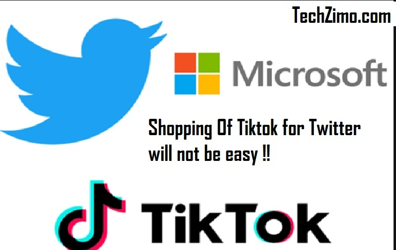 Shopping Of Tiktok for Twitter will not be easy