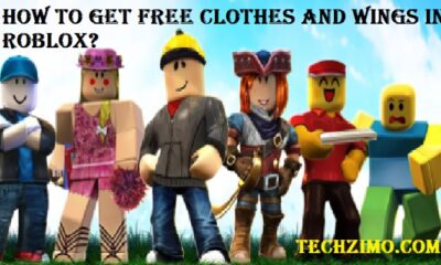 Get Free Clothes and Wings In Roblox
