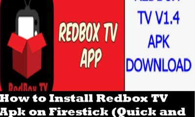 How to Install Redbox TV Apk on Firestick (Quick and Easy Steps)