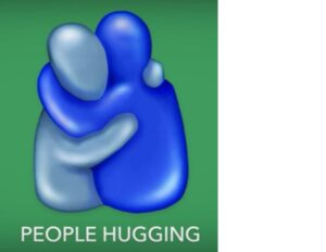 people hugging emoji