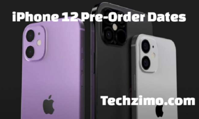 iPhone 12 pre-order dates