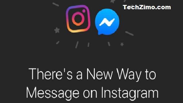 Facebook merge Messenger with Instagram