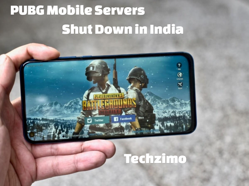PUBG Mobile servers shut down in India