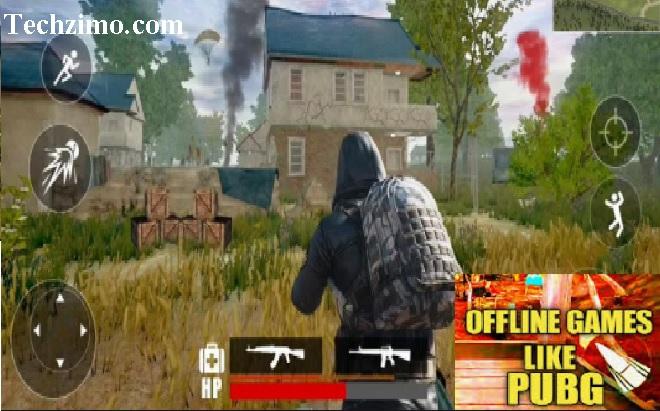 Best offline Android games like PUBG Mobile