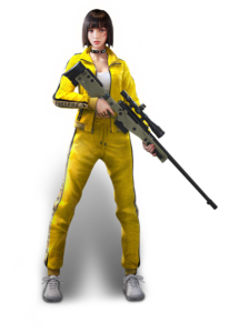Best free fire character - Kelly