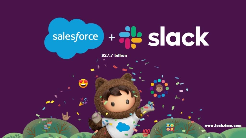 Salesforce to acquire Slack