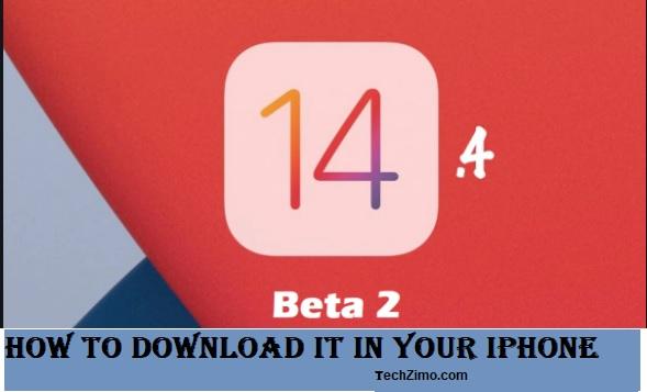 iOS 14.4 beta 2