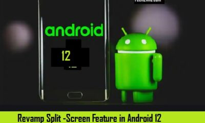Revamp split screen feature in Android 12