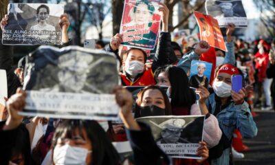 Facebook blocked in Myanmar