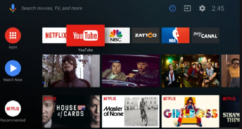 New Android TV Update is exactly similar to Google TV UI