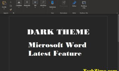 Microsoft Dark Mode Feature