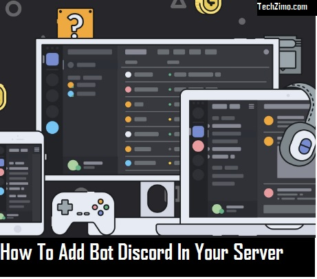 how to add discord bot