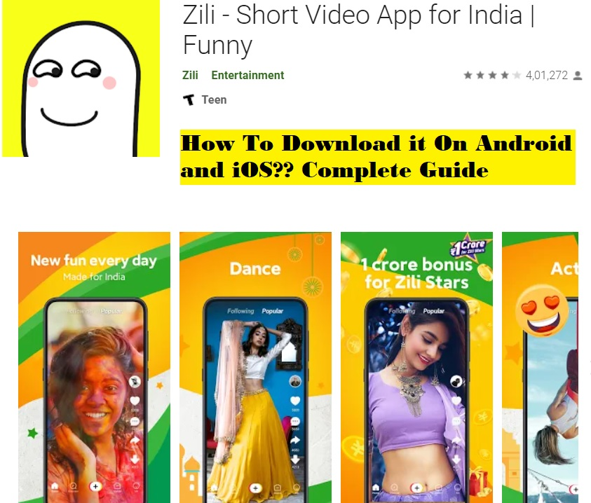 How to download the Zili app on Android, iOS, and Windows??