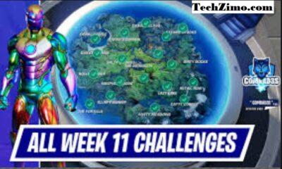 Fortnite Season 5 Week 11 Challenges