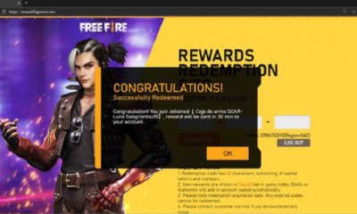 Redeem Free Fire Codes