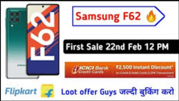 Samsung Galaxy F62 first sale starts today: Check specifications, price and offers