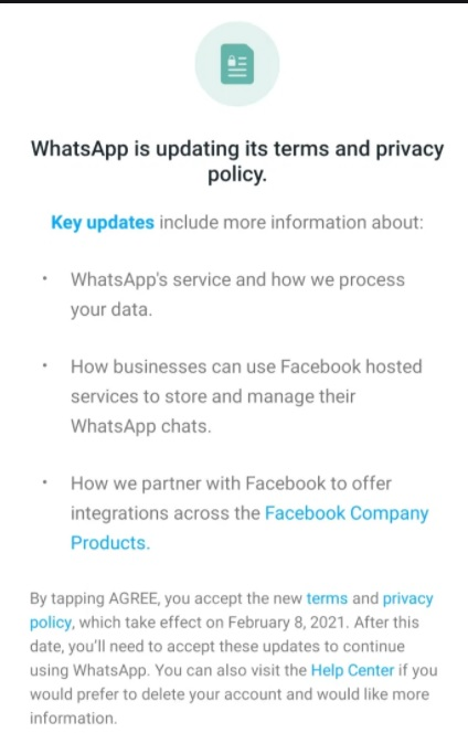 Whatsapp New policy: Users must accept by May 15 to continue