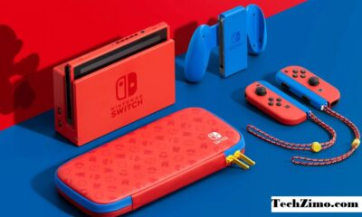 Nintendo Switch Mario Blue & Red Edition