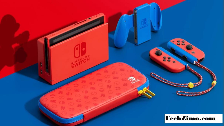 Nintendo Switch Mario Blue & Red Edition