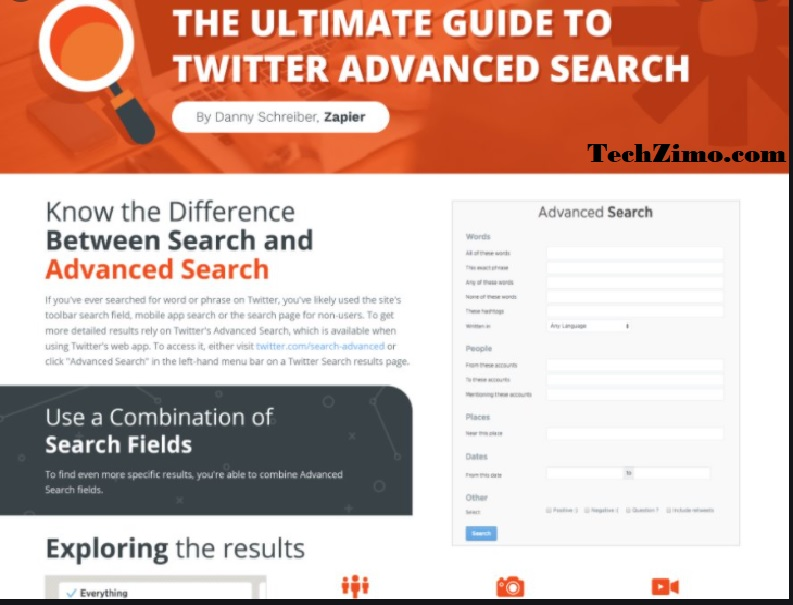 Twitter Advanced search: How to use advanced search for iOS, Android and web