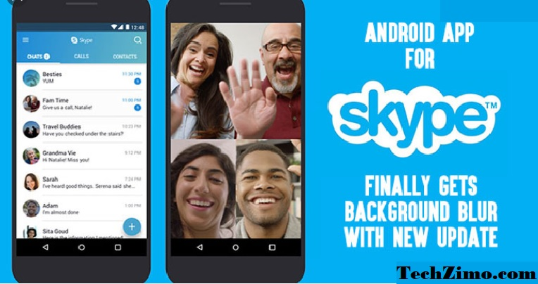 Skype Background blur feature: Best feature in video calls