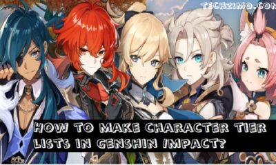 Best ways to make character tier lists in Genshin Impact