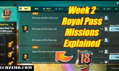 PUBG 1.3 Season 18 Week 2 Challenges