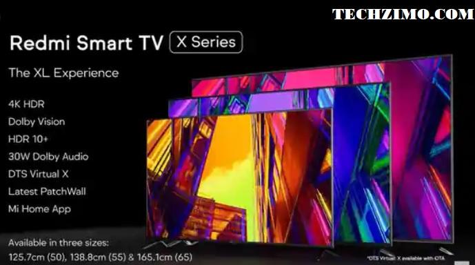 Redmi TV X series
