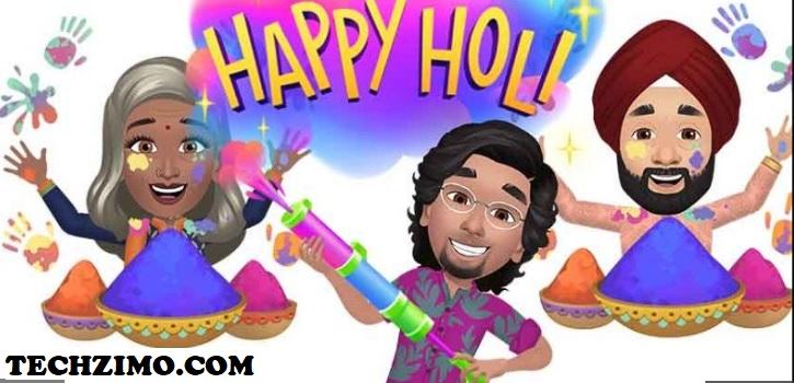 Happy Holi stickers