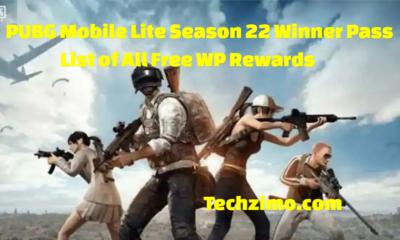 PUBG Mobile Lite Season 22 Winner Pass reward list