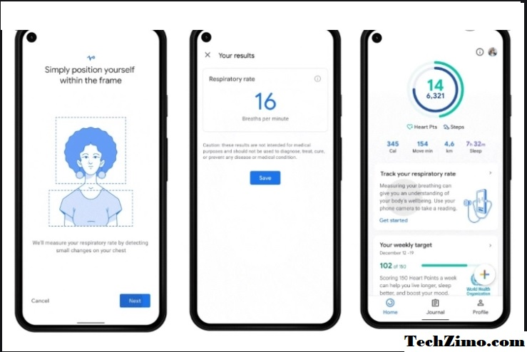Pixel users can now measure heart and respiratory rate