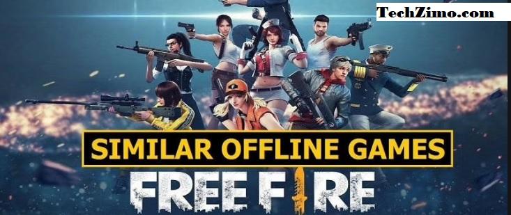 5 best offline games like Free Fire