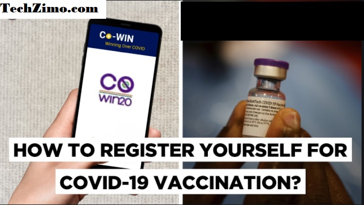 How to register for Covid vaccination on Co-WIN portal ??